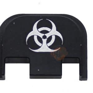 Biohazard Engraved Dust Cover-0