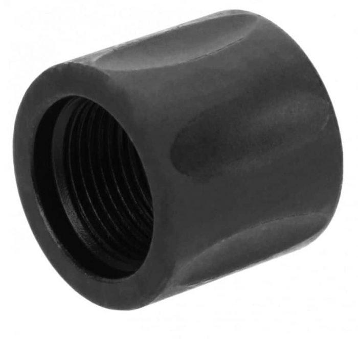 1/2x28 Pencil Diameter Fluted Thread Protector KM Tactical