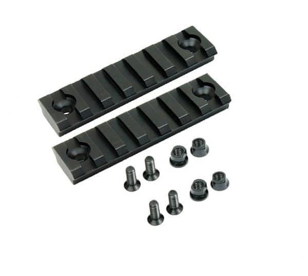 7 Slot Keymod Mini Rail (2 Pack)-0