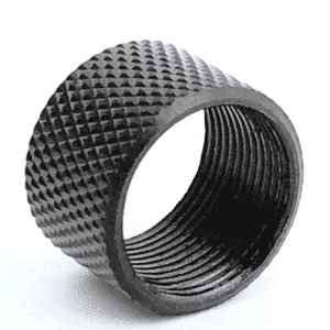 16MM x 1 LH Knurled Thread Protector-0