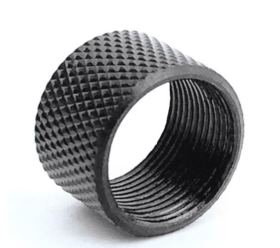 16MM x 1 LH Knurled Thread Protector-0
