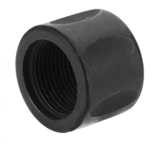 13.5 x 1 9mm Fluted Pistol Length Thread Protector-0
