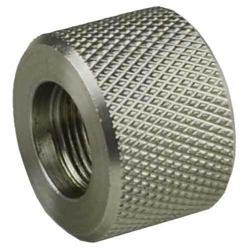 5/8x24 Stainless Bull Barrel Thread Protector-0
