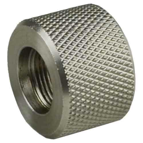 1/2x28 Stainless Bull Barrel Thread Protector-0