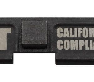 Not California Compliant Engraved Dust Cover - AR 15-0