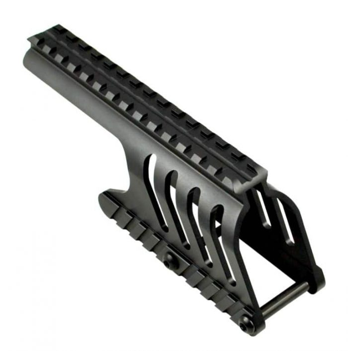 Remington 870 12 gauge Shotgun Low Profile Saddle Mount-0