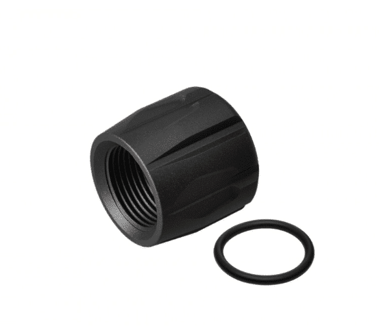 Black Strike Industries Barrel Cover Thread Protector for Rifles-0