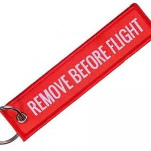 Remove Before Flight Keychain-0