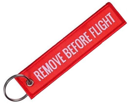 Remove Before Flight Keychain-0