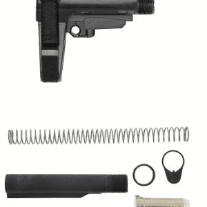SB Tactical Ar-15 SBA3 Pistol Brace & Mil Spec Tube Assembly-0