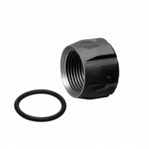 Black Strike Industries Barrel Cover Thread Protector for Pistols KM Tactical