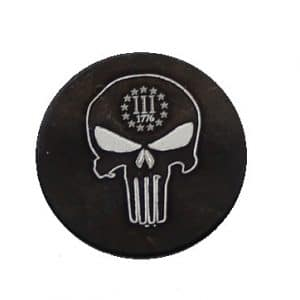 1776 Punisher Oversized Magazine Button-0