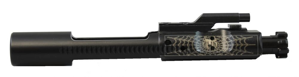Spider Web Engraved Bolt Carrier Group KM Tactical
