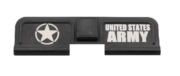 United States Army Engraved Dust Cover - AR 15-0