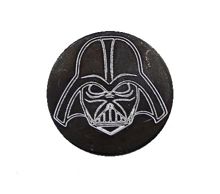 Darth Vader Oversized Magazine Button-0