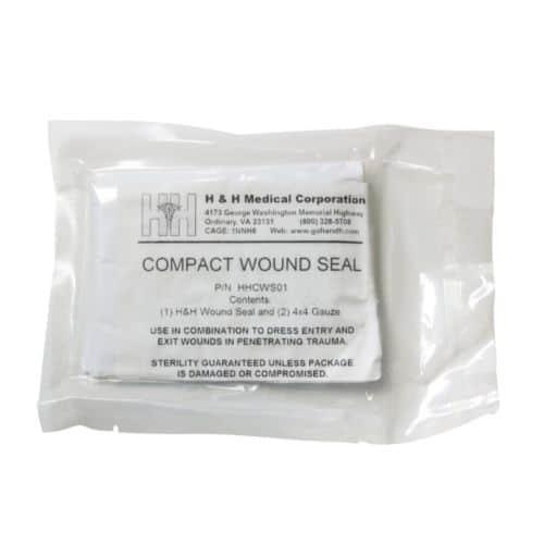 Black Compact Trauma Kit-12794