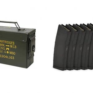 Christmas Special - Ammo Can w/ 6 Magpul Magazines-0
