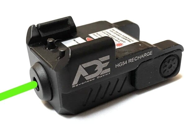Rechargeable Compact Green Pistol Laser-0