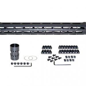 19 Inch Low Profile AR 308 MLOK Rail-0