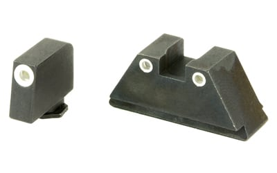 AmeriGlo Tall Suppressor Series 3 Dot Sights for All Glocks Front and Rear Sights-0